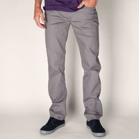 Rsq New York Slim Straight Mens Pants Jet Grey  In Sizes
