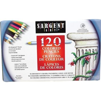 Sargent Art Colored Pencils 120 Ct