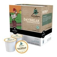 Caribou Daybreak Morning Blend Coffee Keurig K-Cups, 18 Count
