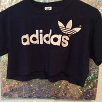 Retro Adidas crop top