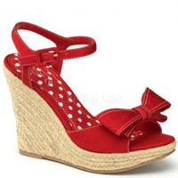 Red Canvas Front Bow Woven Detail Wedges @ Wowpink Wedges Shoes Store:Wedge Shoes,Wedge Boots,Wedge Heels,Wedge Sandals,Dress Shoes,Summer Shoes,Spring Shoes,Prom Shoes,Women's Wedge Shoes,Wedge Platforms Shoes,floral wedges,Fashion Wedge Shoes,Sexy Wedge