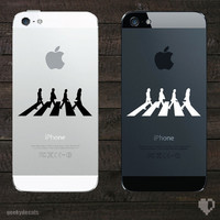 The Beatles Abbey Road iPhone Decal