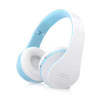 Portable and Foldable Stereo Bluetooth Wireless Headphones with Microphone