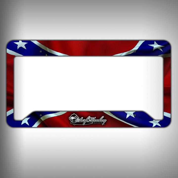 Image of Rebel Custom Licence Plate Frame Holder Personalized Car Accessories