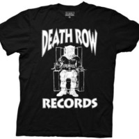 Death Row Records Logo Dr. Dre Rap Licensed Adult T Shirt