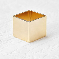 Square Cutout Cocktail Ring