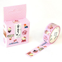 JA109 Cute Cartoon Hello Kitty Decorative Washi Tape DIY Scrapbooking Masking Tape School Office Supply Escolar Papelaria