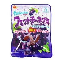 Japanese Gummy Candy Fettuccine Grape Flavor, 1.7 oz (50g)