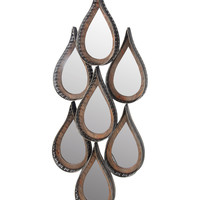 Teardrop Wall Mirror Sconce