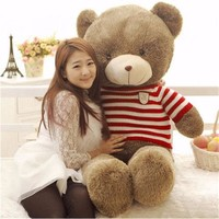 "31"" Cute Big Stuffed Plush Teddy Bear Soft Animal Birthday Doll Toy Gift 80cm"