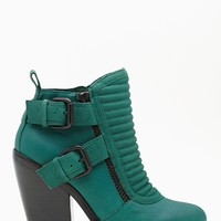 Shoe Cult Outlaw Buckled Boot