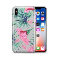 Exotic Hibiscus - Clear TPU Case Cover