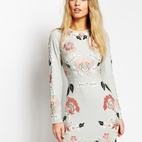 Needle & Thread Embellished Spring Floral Dress