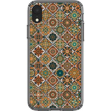 Tile Mosaic Clear Phone Case