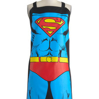 ModCloth Quirky Supper Hero Apron in Superman