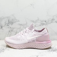 Nike Epic React Flyknit Pink Running Shoes
