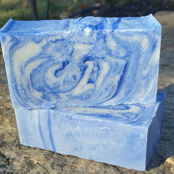 Coconut High Exfoliating/Shop/Grease Remover/Paint Remover/6oz Bar/Callus Remover/Hands and Feet