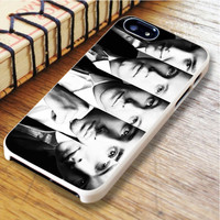 One Direction black and white One Direction Midnight Memories 1D Zayn malik Liam Payne  Harry Style   For iPhone 6 Plus Cases   Free Shipping   AH0476