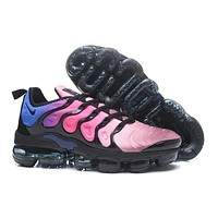2018 Nike Air VaporMax Plus TN Pink Black Sport Running Shoes