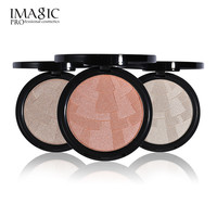 3 Color Highlighter Powder Imagic Brand Brightening Face Foundation Matte Color Palette Highlight Contour Bronzer Make up Set
