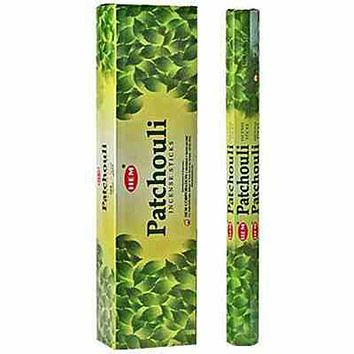 "Hem Patchouli 16""L Jumbo Sticks - 10 Sticks (6 Packs Per Box)"
