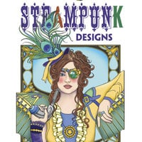 Steampunk Designs Adult Coloring Book