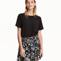 H&M Patterned Skirt $24.99