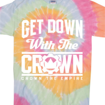 Get Down With The Crown Tee