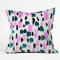 Rebecca Allen At Midnight Throw Pillow