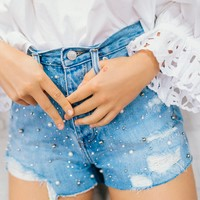 Free People Kick Short