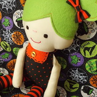 The Mollie Shop | Mollie Dollie - Wendy - cloth doll | Online Store Powered by Storenvy