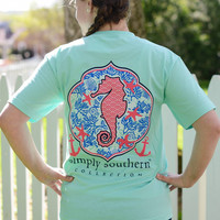 Simply Southern Seahorse Tee