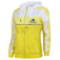 Tagre™ Adidas Women Fashion Zip Cardigan Jacket Coat Sweatshirt Windbreaker