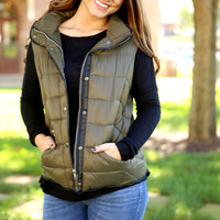 Cross Country Vest - Olive