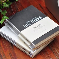 """Big Ideas"" Sketchbook Blank Papers Diary Journal Study Working Notebook Drawing Notepad"