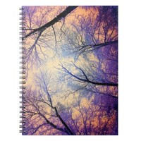 """Snow Angel's View"" (Nature's Painting) Notebook"