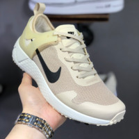 HCXX N1458 Nike 2019 Mesh Low Breathable Light Sport Casual Running Shoes Khaki