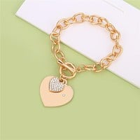 DOUBLE HEART CHAINS OF LOVE BRACELET