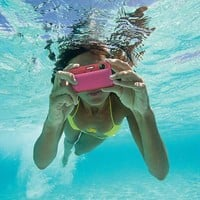 Sony Cyber-Shot DSC-TX10 16.2 MP Waterproof Digital Still Camera with Exmor R CMOS Sensor, 3D Sweep Panorama, and Full HD 1080/60i Video (Pink)