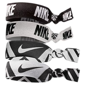 Nike Printed 4-pack Hairbands | Finish Line