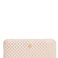 Tory Burch Marion Embossed Leather Wallet | Nordstrom