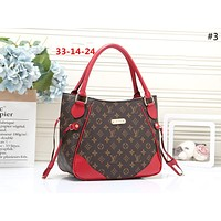 LV 2019 new classic old chess board female shopping bag shoulder bag #3