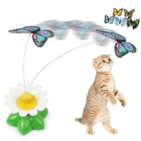 Spinning Butterfly Cat Toy