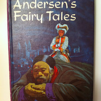 Vintage Andersen's Fairy Tales 1963  Very Good Copy Illustrated