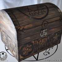 """Supernatural Inspired  """"Large Curse Chest"""" Curse Box"""