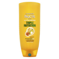 Garnier Fructis Triple Nutrition Fortifying Hair Cream Conditioner - 25.4 Oz