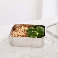 Life Without Plastic Stainless Steel Rectangular Airtight Food Container   Urban Outfitters