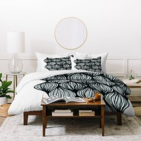 Gabi Waves Duvet Cover