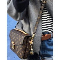 Inseva LV Louis Vuitton Hot Stylish Women Shopping Leather Handbag Shoulder Bag Crossbody Satchel I/A