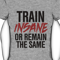 Train Insane or Remain the Same Women's T-Shirt